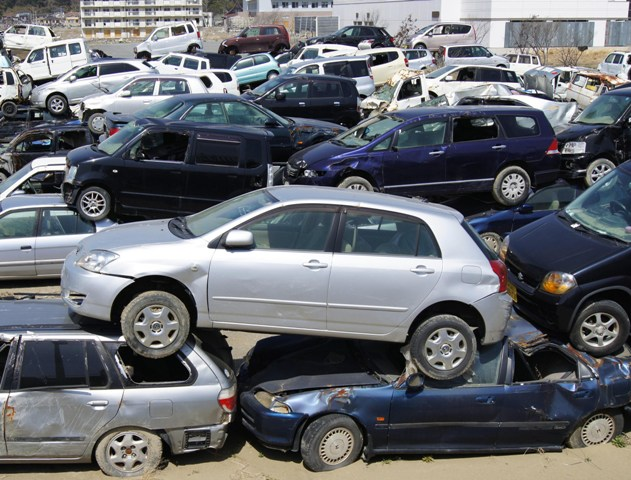 junk car yard oakville